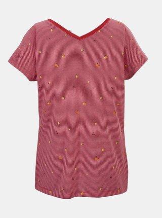 Ružové dámske vzorované tričko killtec
