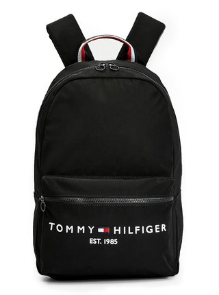 Tommy Hilfiger čierny športový batoh Established Bacpack