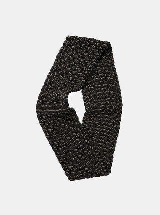 Element INFINITY black elegantní šála - šedá