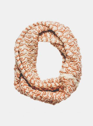 Element INFINITY NATURAL elegantní šála - béžová