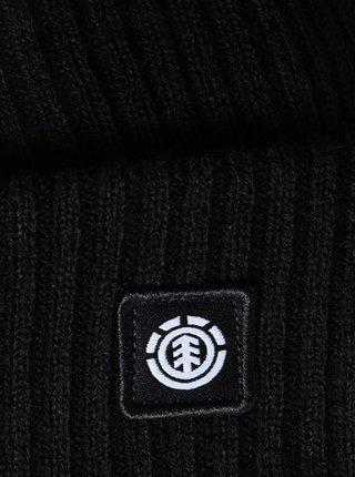 Element FLOW II all black pánská čepice - černá