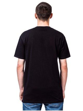 Horsefeathers COCKTAIL black pánské triko s krátkým rukávem - černá