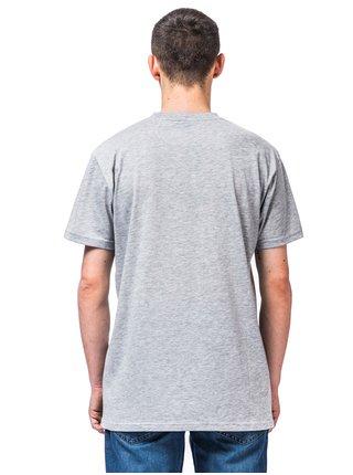 Horsefeathers COCKTAIL ASH pánské triko s krátkým rukávem - šedá