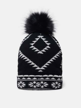 Desigual čierne čiapka Hat Ethnic Reversible