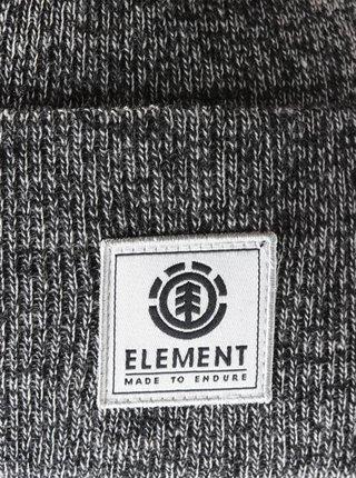 Element DUSK II ASH HEATHER pánská čepice - šedá