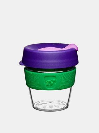Zeleno-fialový cestovní hrnek KeepCup Original Small 227 ml