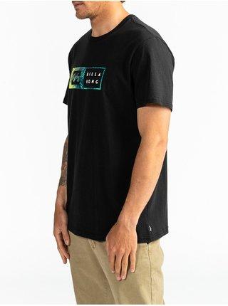 Billabong INVERSED black pánské triko s krátkým rukávem - černá