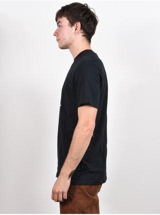 Volcom Misunderstoned black pánské triko s krátkým rukávem - černá