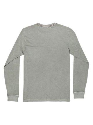 RVCA PTC PIGMENT ALOE pánské triko s dlouhým rukávem - šedá