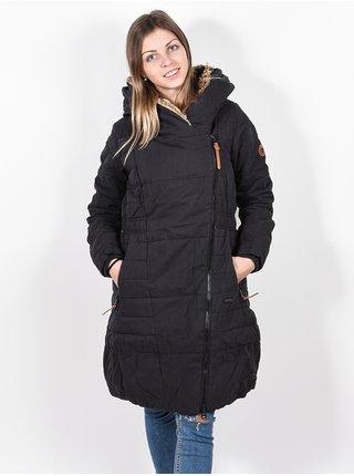 Alife and Kickin Long FriedaAK MOONLESS zimní dámská bunda - černá