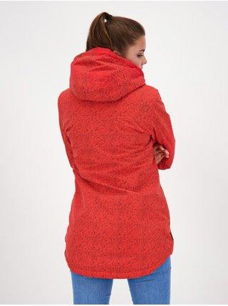Alife and Kickin LILOUAK FIESTA zimní dámská bunda - červená
