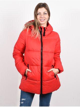 Rip Curl ANTI-SERIES INSULATE RED zimní dámská bunda - červená