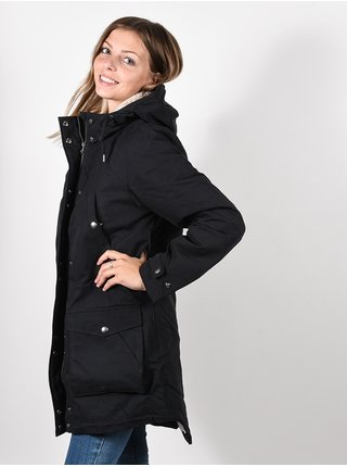 Volcom Walk On By black zimní dámská bunda - černá