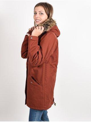 Volcom Less Is More 5K BRICK zimní dámská bunda - červená