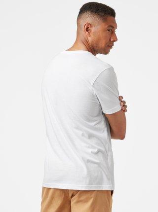 Biele pánske tričko s potlačou HELLY HANSEN