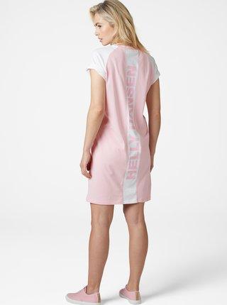 Ružové šaty s potlačou HELLY HANSEN Active