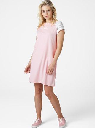Růžové šaty s potiskem HELLY HANSEN Active
