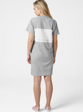 Světle šedé šaty s potiskem HELLY HANSEN Active