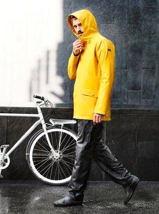 Žlutá pánská nepromokavá bunda HELLY HANSEN