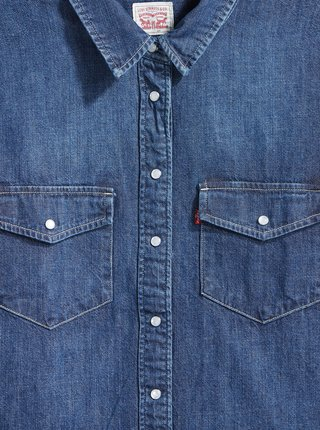 Modrá dámska rifľová košeľa Levi's®