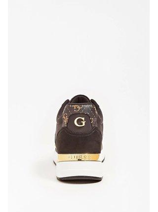 Guess čierne tenisky Ravyn 4G Logo Running Shoe