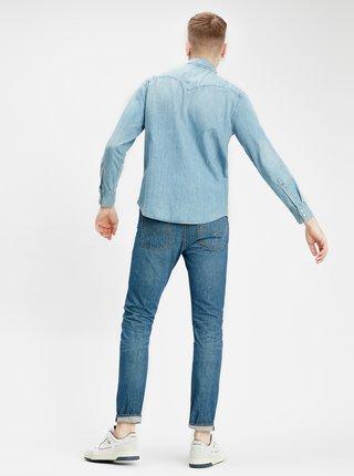 Světle modrá pánská džínová košile Levi's® Barstow Western