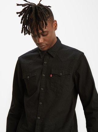 Černá pánská džínová košile Levi's® Barstow Western