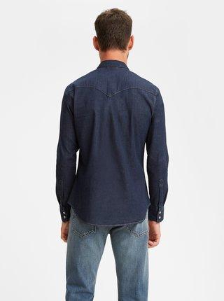 Tmavomodrá pánska rifľová košeľa Levi's®