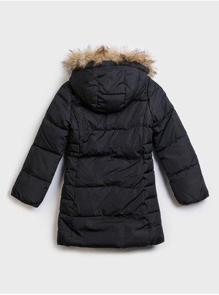 Kabát GAP Čierna