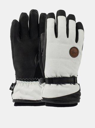 POW Ravenna GREY zimní prstové rukavice - černá