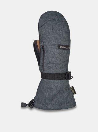 Dakine LEATHER TITAN MITT CARBON zimní palcové rukavice - šedá