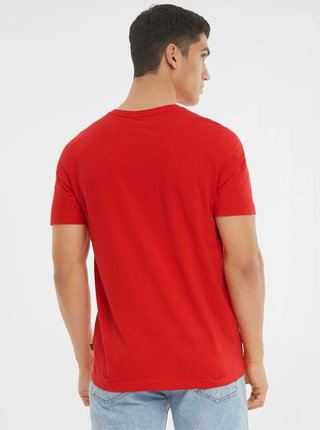 Červené pánské tričko Puma Ess