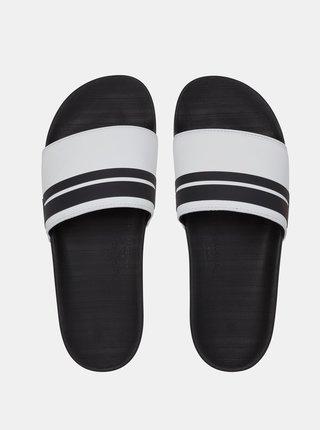 Černé pantofle Quiksilver