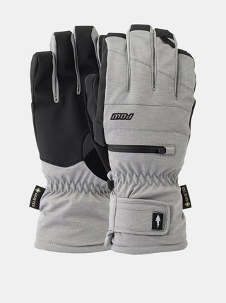POW Wayback GTX Short Gl MONUMENT pánské zimní prstové rukavice - šedá