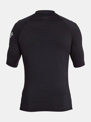 Černé sportovní tričko s potiskem Quiksilver