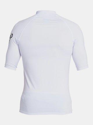 Biele športové tričko s potlačou Quiksilver