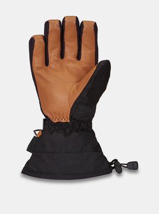 Dakine LEATHER CAMINO HOXTON zimní prstové rukavice - černá