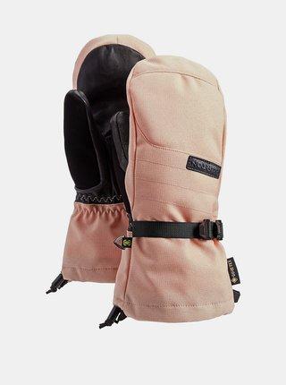 Burton DELUXE GORE PEACH MELBA zimní palcové rukavice - růžová
