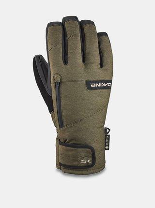 Dakine TITAN SHORT dark olive pánské zimní prstové rukavice - zelená