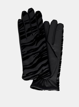 Ichi čierne rukavice Iazebra