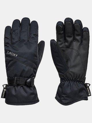 Roxy FIZZ TRUE BLACK zimní prstové rukavice - černá