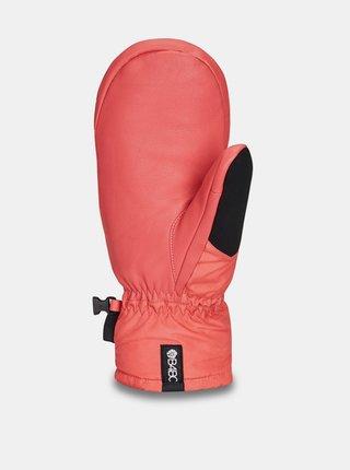 Dakine FILLMORE MITT B4BC SPICED CORAL zimní palcové rukavice - červená