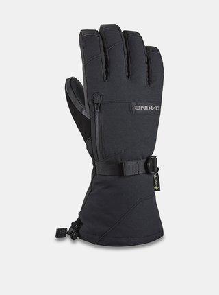 Dakine TITAN black pánské zimní prstové rukavice - černá