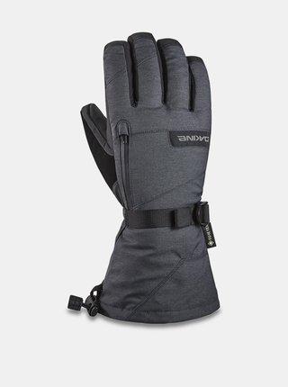 Dakine TITAN CARBON pánské zimní prstové rukavice - šedá
