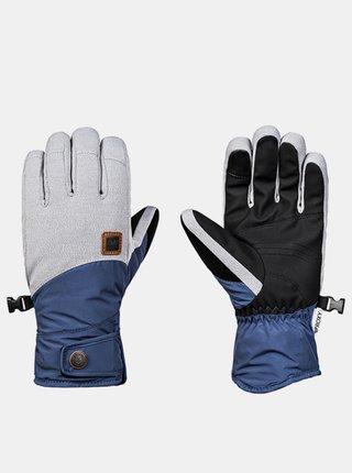 Roxy VERMONT crown blue zimní prstové rukavice - modrá