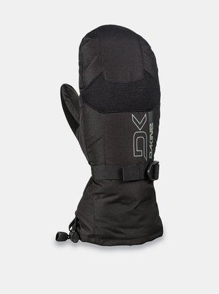 Dakine LEATHER SCOUT black zimní palcové rukavice - černá