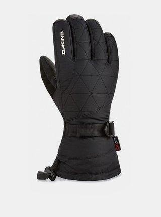 Dakine LEATHER CAMINO black zimní prstové rukavice - černá