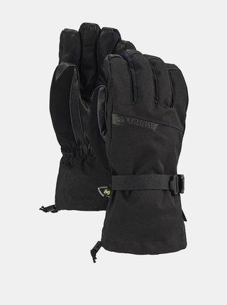 Burton DELUXE GORE TRUE BLACK pánské zimní prstové rukavice - černá