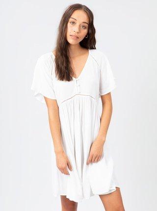 Bílé šaty s knoflíky Rip Curl