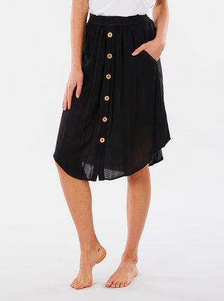 Černá sukně s kapsami Rip Curl